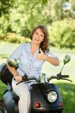Woman riding Royalty Free Stock Photo