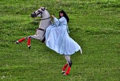 Woman Riding Royalty Free Stock Photos