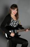 Woman rockstar Stock Images