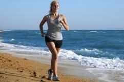 Woman run Stock Photos