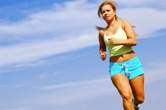 Woman Runner Royalty Free Stock Photography