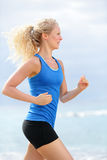 Woman runner royalty free stock images