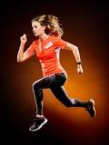 Woman runner running jogger jogging  Stock Photography