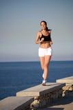 Woman running Royalty Free Stock Photos