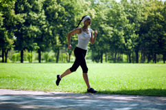 Woman running Stock Photography