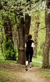 Woman running Stock Photos