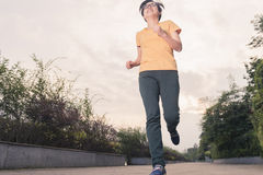 Woman running Royalty Free Stock Images