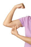 Woman's arm Stock Images