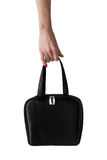 Woman S Bag In Hand Stock Photography