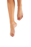 Woman's bare feet. Royalty Free Stock Images