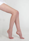 Woman's Bare Legs Royalty Free Stock Image