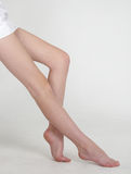 Woman's Bare Legs Royalty Free Stock Images