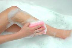 Woman's bath Royalty Free Stock Photo