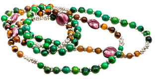 Woman's bead Royalty Free Stock Photography