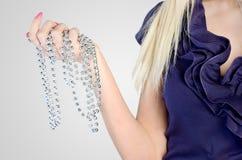 Woman's bead Royalty Free Stock Photo