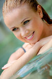 Woman's beauty Stock Images