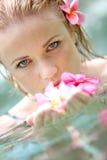 Woman's beauty Stock Photography