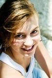 Woman's beauty portrait Stock Photography