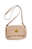 Woman's brown hand bag Royalty Free Stock Image