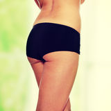 Woman's buttocks Royalty Free Stock Images