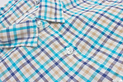 Woman's Checked Shirt. Stock Photos