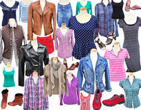 Woman`s clothes Royalty Free Stock Images
