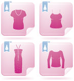 Woman's Clothing Stock Images