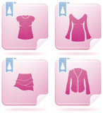 Woman's Clothing Royalty Free Stock Images