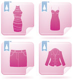Woman's Clothing Royalty Free Stock Photos