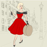 Woman of 50s Stock Images