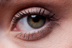 Woman's Eye Royalty Free Stock Photo