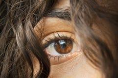 Woman's Eye Royalty Free Stock Image