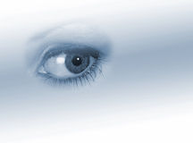 Woman's eye Royalty Free Stock Photography
