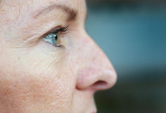 Woman's eye Royalty Free Stock Photos