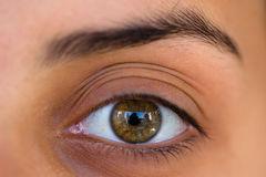 Woman's eye Stock Photo