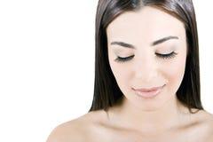Woman's eyelashes Royalty Free Stock Photography