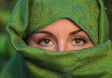Woman's eyes Royalty Free Stock Image