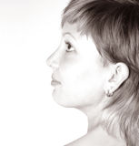 Woman`s face Royalty Free Stock Photo