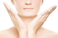 Woman's face Royalty Free Stock Image