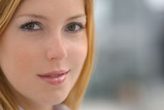 Woman's face Stock Photography