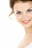 Woman's face close up Royalty Free Stock Photography
