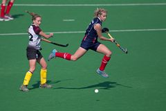 Woman's field hockey Stock Image