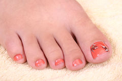 Woman's foot Royalty Free Stock Photo