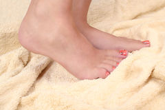 Woman's foot Royalty Free Stock Images