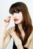Woman's glamour portrait Stock Photos