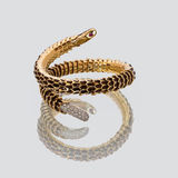 Woman's golden bracelet Royalty Free Stock Photography
