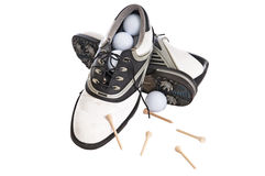 Woman's Golf Shoes Stock Photos