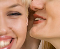 Woman's gossips Stock Image
