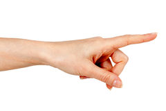Woman's hand Stock Photography