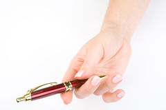 Woman's hand Royalty Free Stock Photo